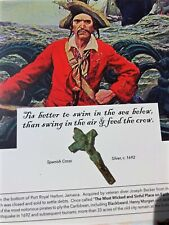 Pirate Treasure * Authentic Port Royal Spanish Crucifix Artifact c.1692 * Coa