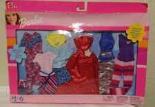 Barbie 6 Fashion Gift Pack 2002 - Includes 6 Complete Outfits - Mattel # 68073