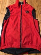 Castelli Gore Windstopper Vest Small Red Rare Small Size