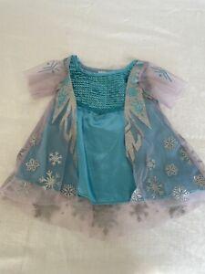 Build-A-Bear Workshop Frozen Elsa Snowflake and Sequin Dress