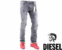 DIESEL THAVAR 0858M W28 L32 Mens Denim Jeans Regular Fit Straight