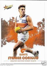2017 Select Footy Stars Common Card (103) Stephen CONIGLIO GWS