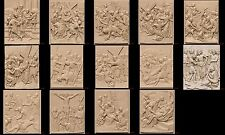 CNC 3d STL Models 14 Jesus All Scenes Bas Relief  for 3D Printer Machine Artcam