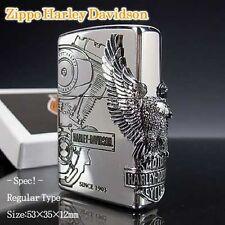 ZIPPO / HARLEY-DAVIDSON Cigarette Oil Lighter LIMITED EDITION HDP-03