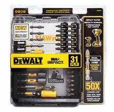 DeWalt DWAMI31 MAX Impact Driver Screwdriving Bit Set (31-Piece)