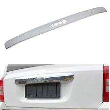 1X FOR JEEP COMPASS PATRIOT CHROME REAR BOOT BACK DOOR COVER HATCH MOLDING TRIM