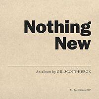 GIL SCOTT-HERON - NOTHING NEW  VINYL LP + DVD NEW+