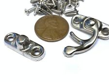 1 piece BXR brand S Silver Nickle Wood Box Case Latch Clasp small metal a10
