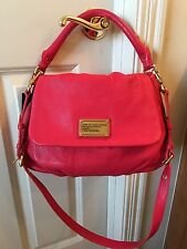 NWT 100% Authe Genuine Leather Marc Jacobs Ukita, Rock Lobster (Strawberry Pink)