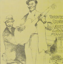 FAVORITE COUNTRY BLUES GUITAR-PIANO DUETS 1929-1937