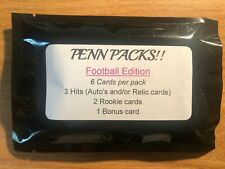 Penn Packs! Football Edition Series 1 - loaded with hits n'at!