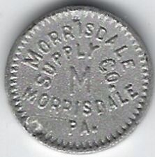 Morrisdale, PA, Morrisdale Supply Co., Good For 1¢ In Trade, Coal Scrip