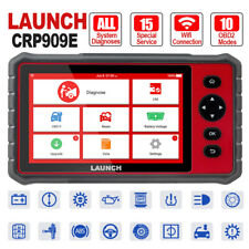 LAUNCH OBD2 Scanner CRP909E Full Systems Scan Tool 16 Reset Function Code Reader