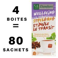 4 Boîtes Tisane Laxative Transit Damhert Minceur Régime Thé Détox Tea Maigrir