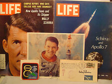 Wally Schirra, Astronaut,Mercury,Gemini,Apollo,Moon, Space, SIGNED 1st day Cover