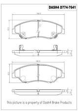 Disc Brake Pad Set-Ceramic Pads Front Pronto PCD774 fits 98-02 Kia Sportage