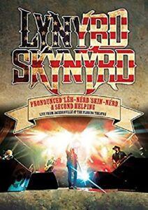 Lynyrd Skynyrd Pronounced Leh-Nerd Skin-Nerd & Second Helping (DVD).NEW.