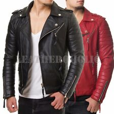 Men's Leather Coats and Jackets | eBay