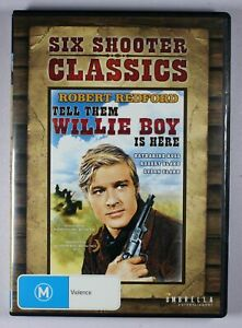 Tell Them Willie Boy is Here DVD FREE POST