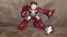 Rapid Deploy Iron Man (Iron Man 2) with Helmet - Super Hero Squad Cake Topper