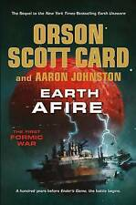 NEW Earth Afire (The First Formic War) by Orson Scott Card