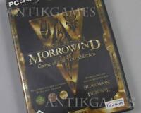 Morrowind Game of the Year Edition Bloodmoon Tribunal PC Deutsch Erstausgabe 4cd