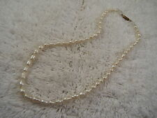 Cultured Freshwater Rice Pearl Necklace (C13)