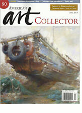 AMERICAN ART COLLECTOR, APRIL, 2013  ( SEASCAPES, RIVERS AND LAKES * SALON INT'L
