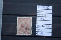 FRANCOBOLLI STAMPS N°36 OLANDA USATI ( F57835)