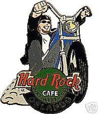 Hard Rock Cafe ORLANDO 2001 BIKE WEEK PIN Low Rider Biker Dude MOTORCYCLE
