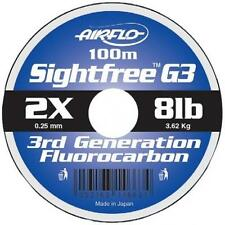 Airflo G3 Sightfree Flurocarbon Fishing Line 100m 5lb