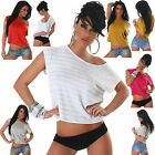 NEW SEXY WOMEN CLUBBING TOP LADIES PARTY BLOUSE CASUAL SHIRT SIZE 6 8 10 12 S M