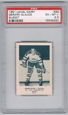 1952 Laval Dairy Subset Hockey Card Chicoutimi #32 Gerard Glaude Graded PSA 6.5