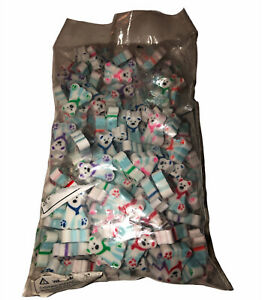 Bulk Mini Polar Bear Erasers  - Stationery - 144 Pieces