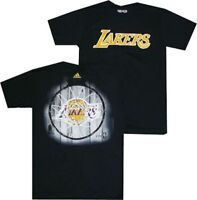 New Los Angeles Lakers Black Dime Adidas T Shirt  Clearance