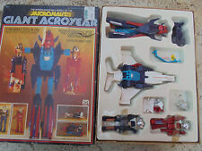 27491 vintage Micronauts Giant acroyear Space robot 5 Toys in one unkomplett