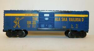 LIONEL 6464-825 ALASKA RR BOXCAR