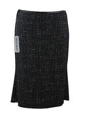 Apriori Rock 38 schwarz beige mit Muster Godetrock neu skirt jupe