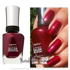 Sally Hansen Complete Salon Manicure Nail Polish Colours Buy 2 Get 1free 620 Wine Not