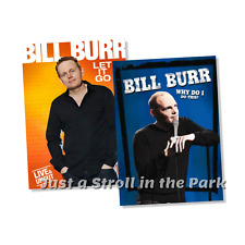 Bill Burr Standup Comedy Specials Let It Go + Why Do I Do This? Box / DVD Set(s)