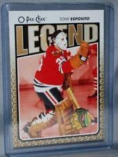 2009-10 O-Pee-Chee Legend #599 Tony Esposito Chicago Blackhawks