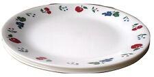 4 Corelle Cherry & Berry Dinner Plates 4 Salad Plates NEW
