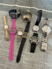 Job Lot of Mens Gents Watches Watch timex casio seiko baby g sekonda rotary