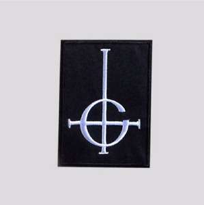 GHOST BC CROSS EMBROIDERED PATCH - Infestissumam Papa Emeritus satanic gothic