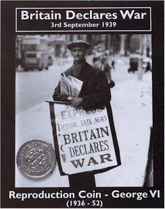 Britain Declares War Coin Pack