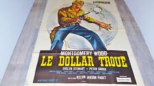 LE DOLLAR TROUE ! montgomery wood ( giuliano gemma ) affiche cinema western 1965