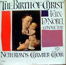 De Nobel - The Birth Of Christ LP VG+ LC 3614 Vinyl Record 1B/1D Gold Label