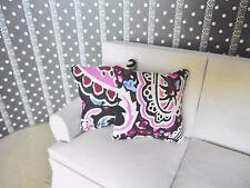 MINIATURE DOLL HOUSE 12TH SCALE FURNITURE 2 X SCATTER SOFA CUSHIONS QP33