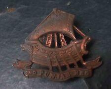 2nd Punjab regiment cap badge rare 1ww