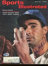 Sandy Koufax Autographed Signed Sports Illustrated 3/4/63 Certified BAS LOA